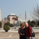 Outside Hagia Sofia